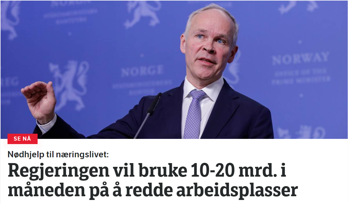 NRK Screenshot 27.03.2020